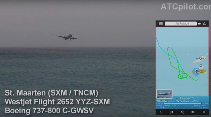 A WestJet B737 Demonstrates How the Famous Princess Juliana Approach Can Be Tricky. Every aviation enthusiast knows about the approach to St. Maarten's famous Princess Juliana Airport and the remar…