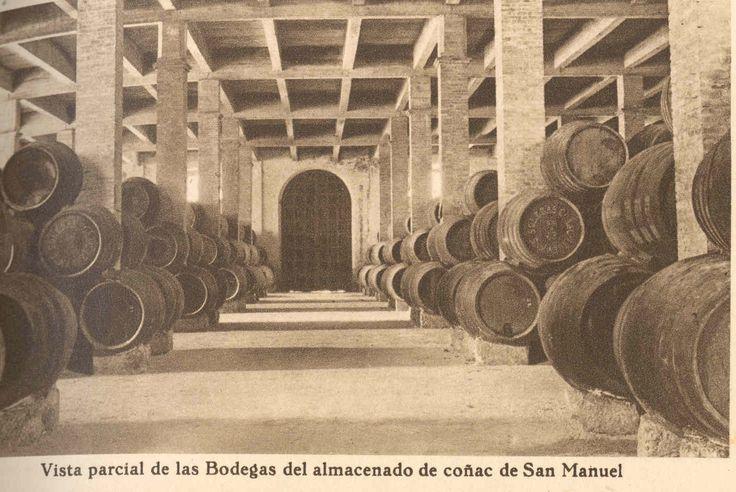 Bodegas de almacenado de San Manuel. / The San Manuel storage Bodegas.