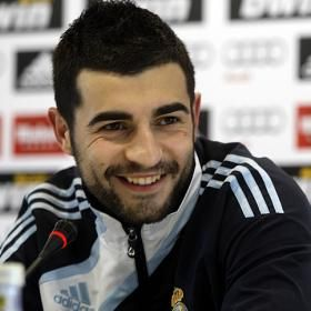 Raúl Albiol Tortajada, Spanish professional footballer with S.S.C. Napoli in Italy and the Spanish national team. b. 1985