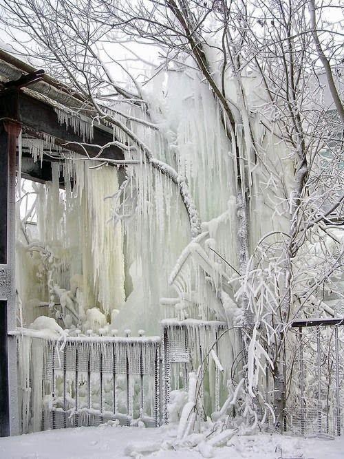 massive icicles! Çarpıcı Picz: Zaman Fırtına Bitti - Hoş !