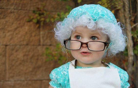 Disfraz casero de abuelita