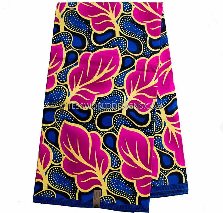 Pink Ankara Fabric, wholesale / Wax print fabric / African Fabric / Ankara Fabric / African cloth /African supplies  WP904 by TessWorldDesigns on Etsy