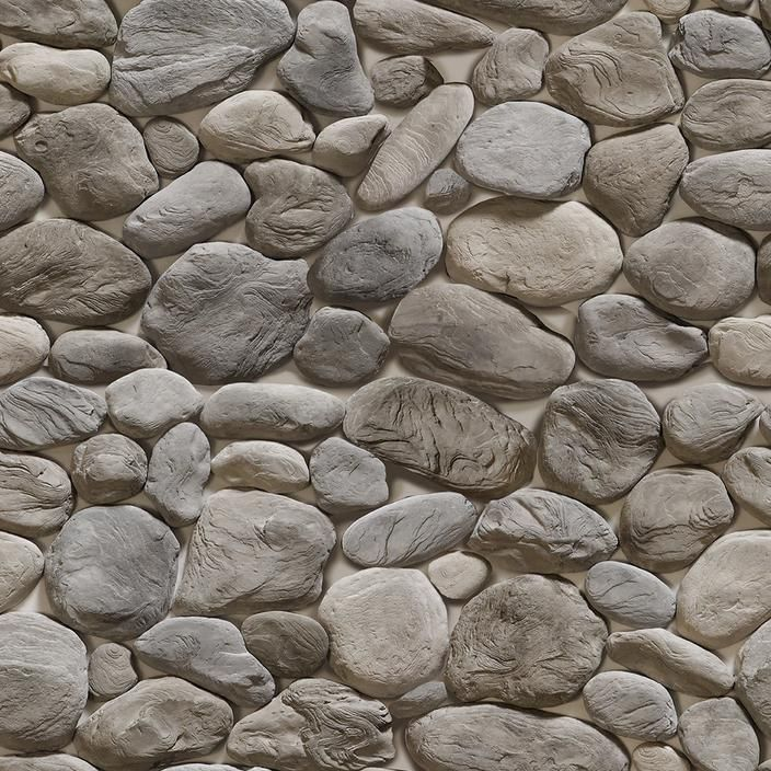 River Rock Effect Wallpaper For Walls 3d Stone Pattern Stone Wallpaper Stone Pattern Stone Texture