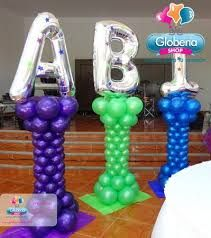 Resultado de imagen para decoracion de globos para graduacion