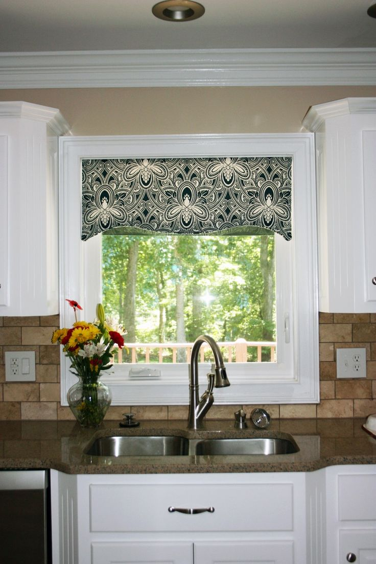 Best 25 contemporary valances ideas on pinterest window for Contemporary kitchen window treatment ideas