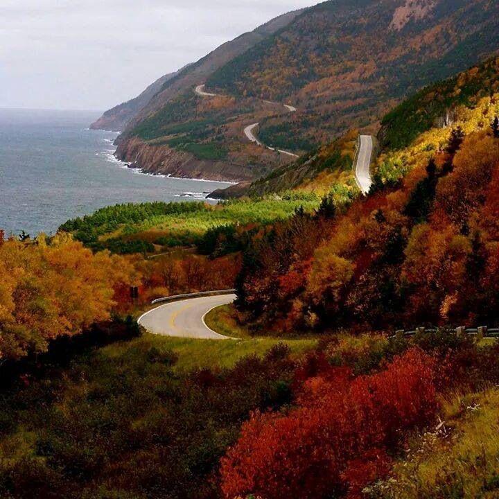 Cabot Trail, Cape Breton Island, Nova Scotia