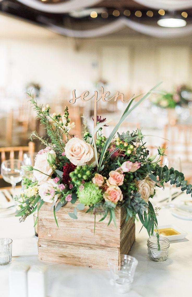 Geschenk Hochzeit – Wort Hochzeit Tischnummern auf Sticks für Mittelstücke H  – Hochzeit