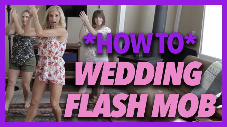 HOW TO- Wedding Flash Mob Breakdown (Kesha's Timber)