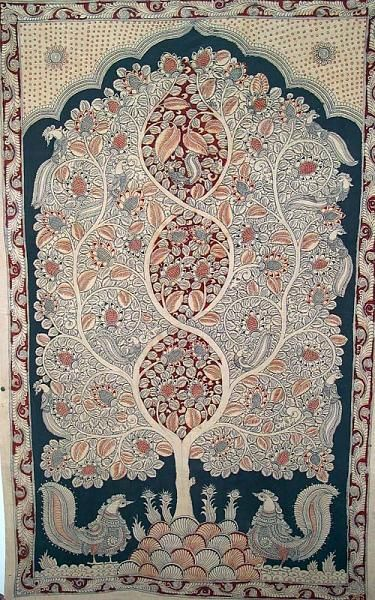 Indian Painting Styles...Kalamkari Paintings (Andhra Pradesh)-tree-of.jpg