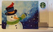 2016 Starbucks Corporate Snowman Christmas 2016 Card