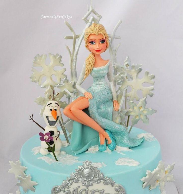 Frozen - Cake by Carmen Iordache