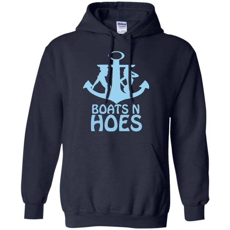 Boats And Hoes Anchor T-Shirt