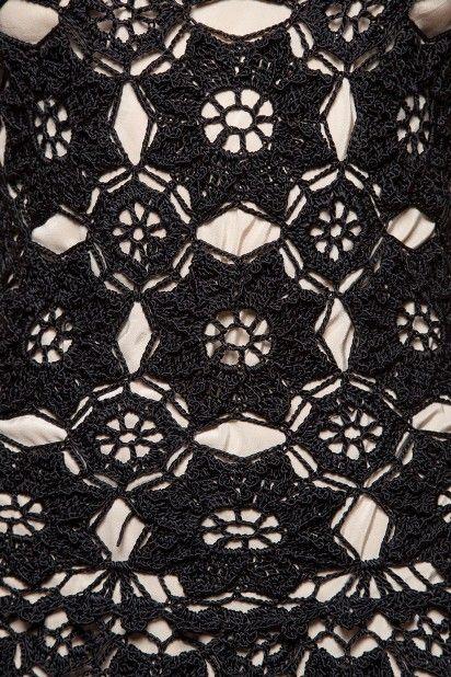 Vestido Crochet Marchesi Céu - Vanessa Montoro - vanessamontoro