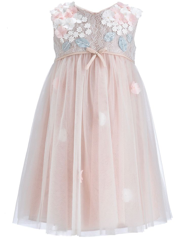 Baby Lilly Dress | Pink | Monsoon