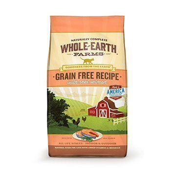 Whole Earth Farms Grain Free Recipe Dry Cat Food Salmon 10 lb by Merrick Pet Care ** To view further for this item, visit the image link.