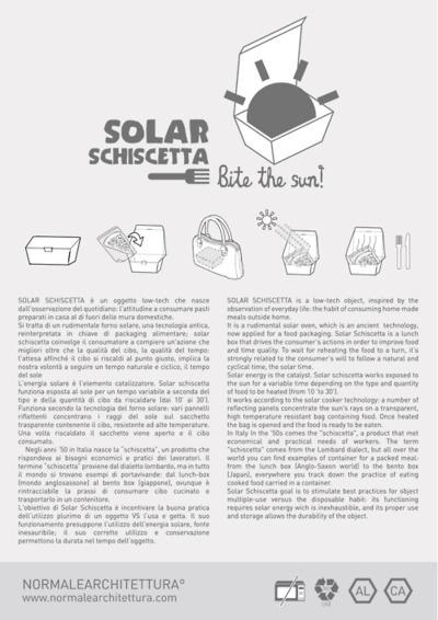 SolarSchiscetta // Cascina Cuccagna Goodesign ^L^