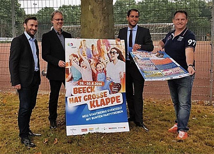 Duisburg: Beecker Kirmes präsentiert Eventzelt