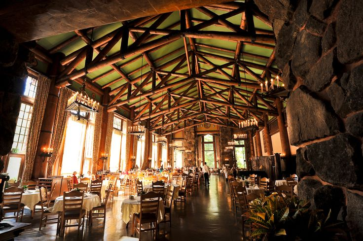 Stay at the Majestic Yosemite Hotel, which used to be the Ahwahnee
