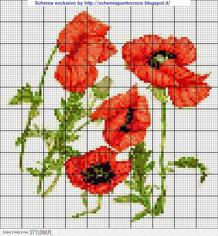 1000+ images about cross stich, knitting, crochet, embroidery on Pinterest ...