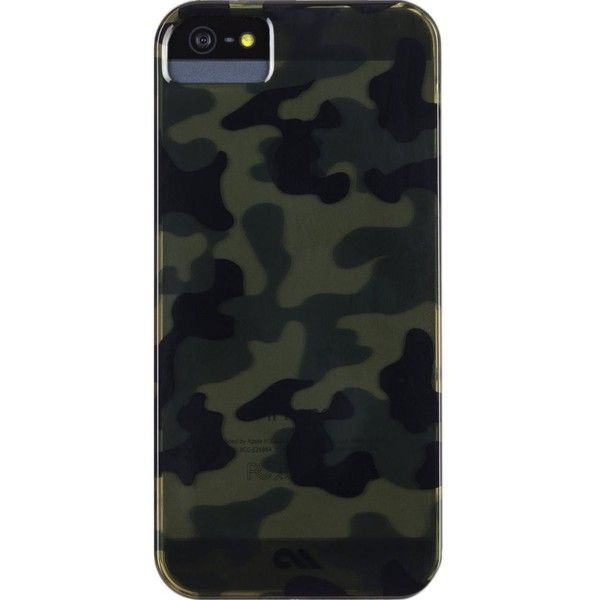 CASE-MATE Barely There Urban Camo iPhone 5 case found on Polyvore