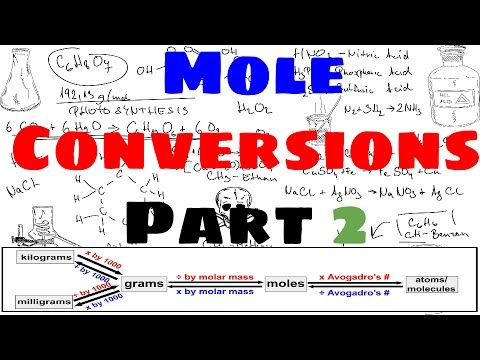 Mole Conversions - Part 2