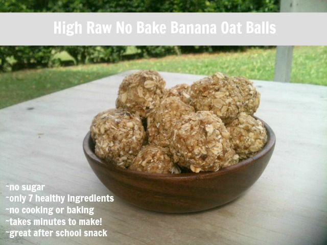 New Nostalgia: No Bake High Raw Oatmeal Banana Balls. I made these to take to an Oakland A's game & tailgate party (so I'd have something healthy to eat). I shared them, and they were a hit!