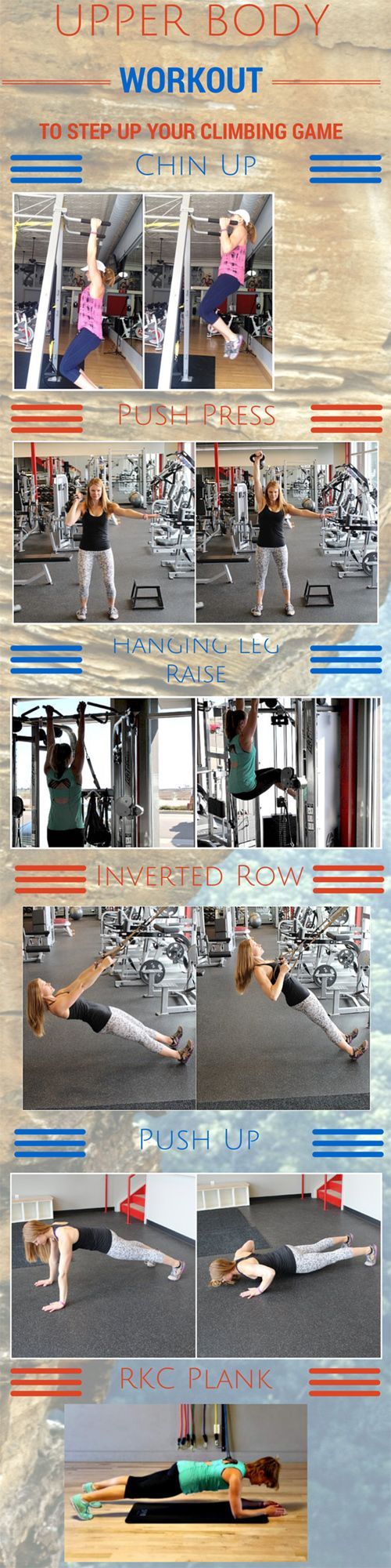 Rock It! An Upper Body Workout to Step Up Your Climbing Game   Sierra Social Hub