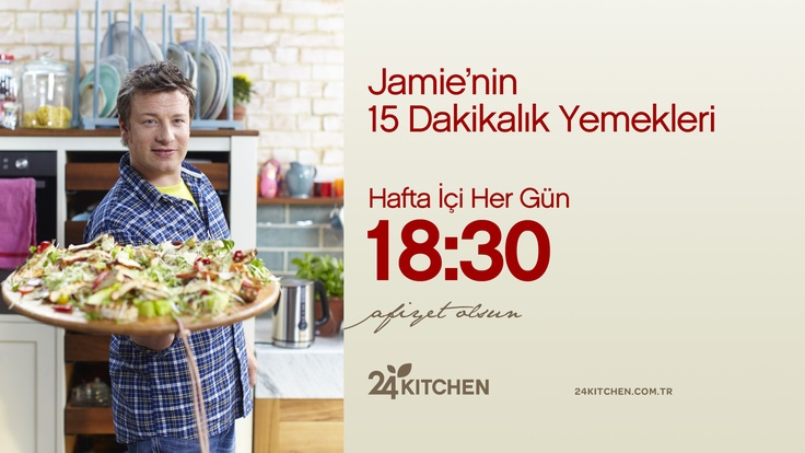 Cuma pizzası senin elinden olsun! Bugün Jamie'den harika bir pizza tarifi geliyor. http://www.24kitchen.com.tr/jamienin-15-dakikalik-yemekleri