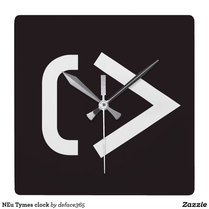 NEu Tymes clock
