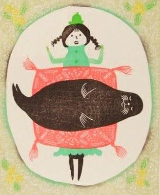 I love this fat little seal!  -  Ayami Ito