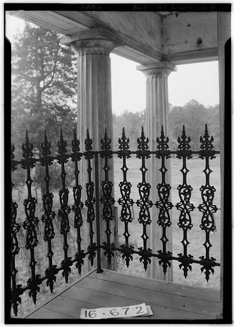 Archibald Tyson House, State Highway 97 (County Road 29), Lowndesboro, Lowndes County, AL - Photos from Survey HABS AL-672   Library of Congress