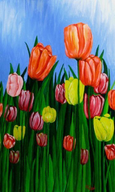 Acrylic painting art