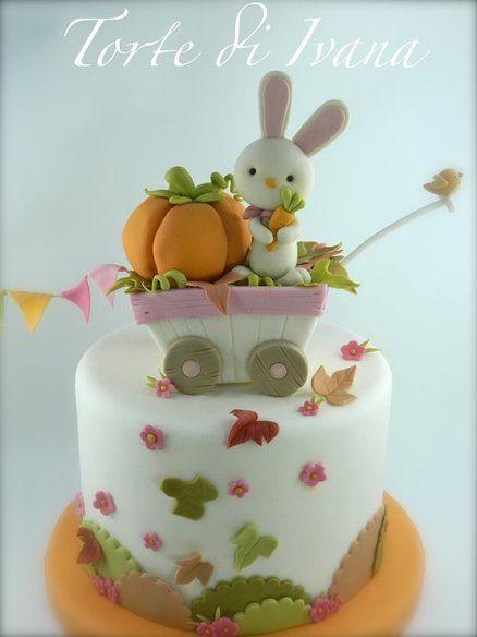 AUTUMN - by tortediivana @ CakesDecor.com - cake decorating website