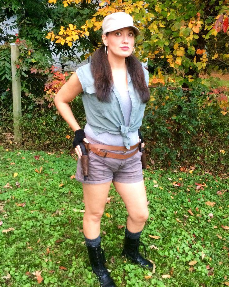 Rosita Espinosa Cosplay Costume Walking Dead