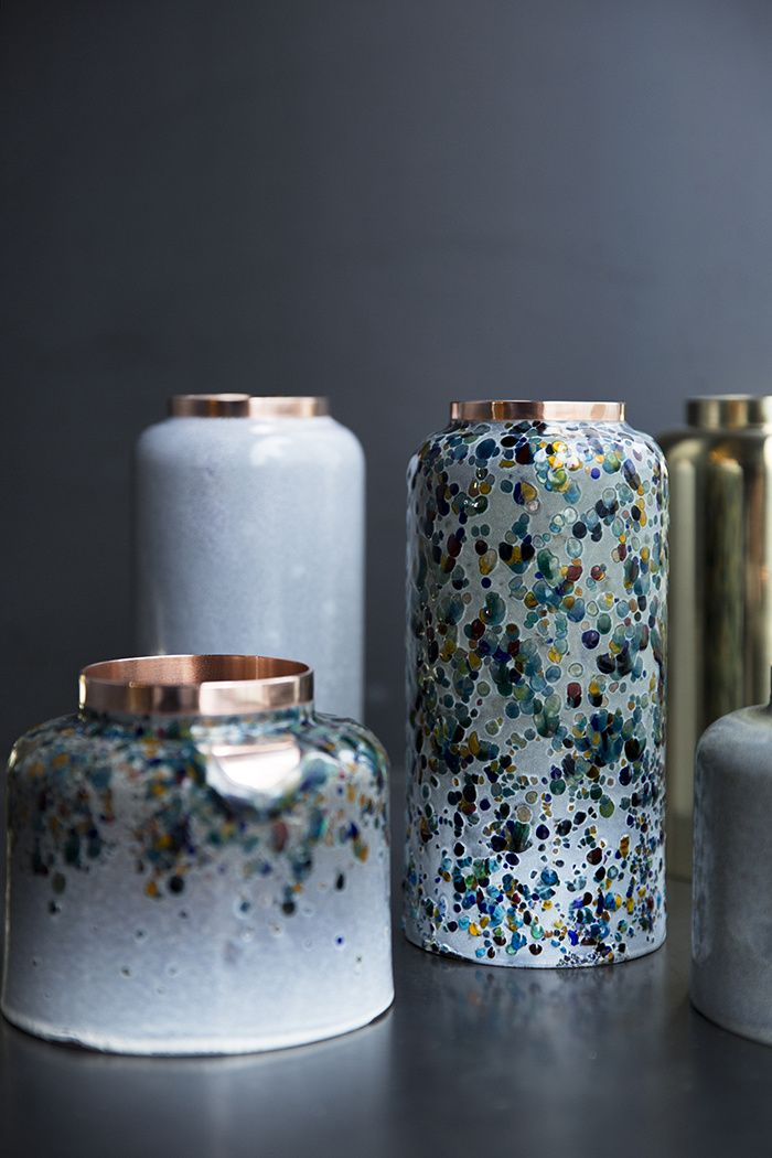 20 vases design : Vases en cuivre (Korea Craft & Design Foundation)