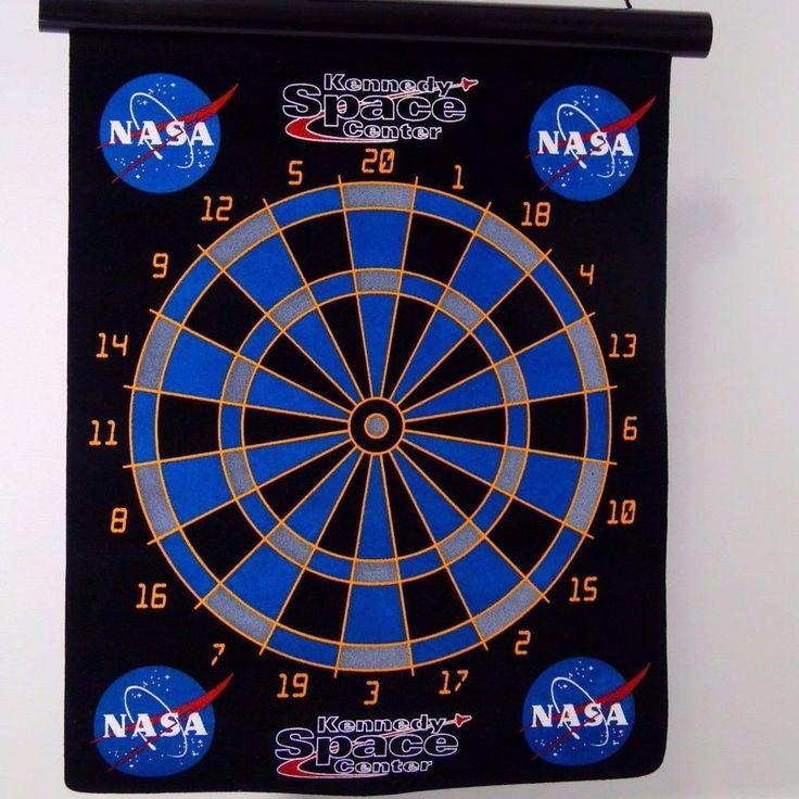 Magnetic Dart Board NASA Kennedy Space Center Kids Safe | Collectibles, Historical Memorabilia, Astronauts & Space Travel | eBay!