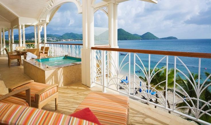 Hotel The Landings St. Lucia - All Suites - Caribbean Islands #HotelDirect info: HotelDirect.com