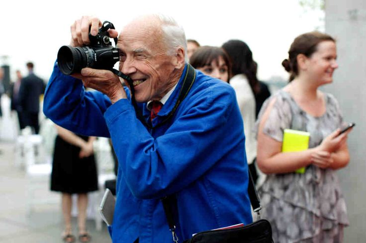 Totally love Bill Cunningham. Great photographer of NYC fashion history but more than his pictures, I totally get and feel how he shows his love for the world around him through a quiet production of the art we know him for. I'll never have his talent but I'd like to think I understand his approach. Incredible guy and a heartbreaking affirmation of the human condition.