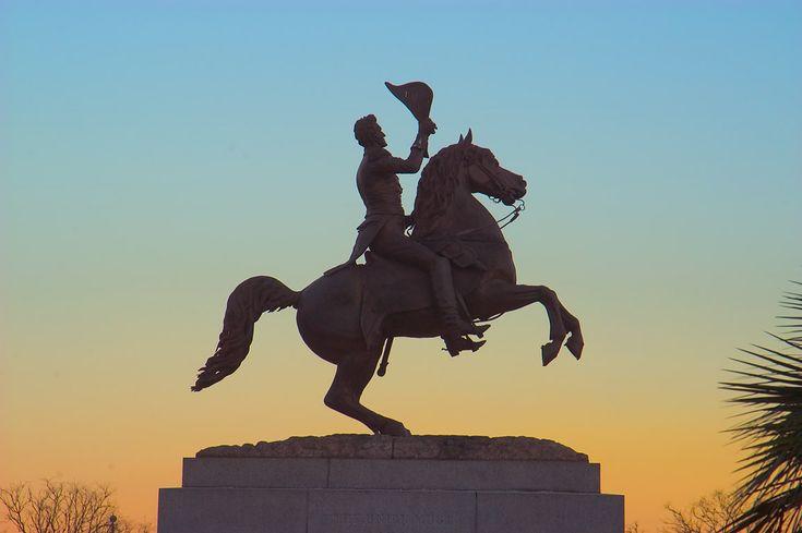 New Orleans, La-Andrew Jackson Statue