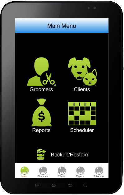 Pet Grooming Software for Mobile 2.1 - The pet grooming software offers an extensive database that... - SoftwareD