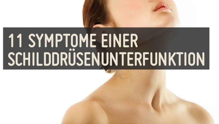 Die Symptome einer Schilddrüsenunterfunktion reichen von Gewichtszunahme über Kropfbildung bis zu Müdigkeit oder Depression ➤ Die richtige Ernährung hilft.