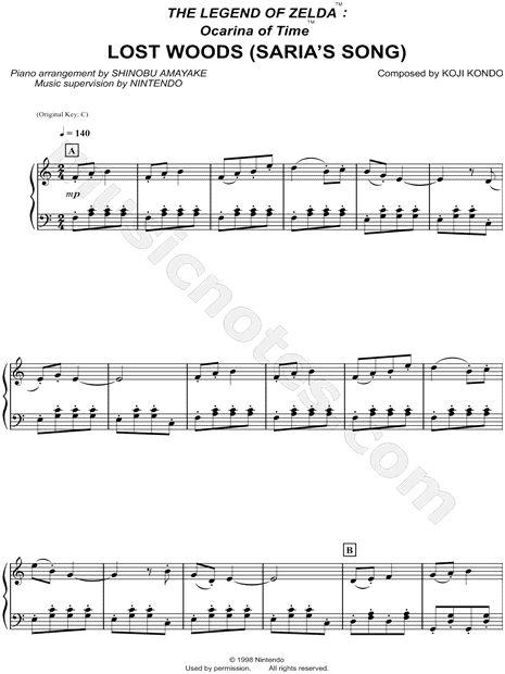 Sheet Music-Legend of Zelda (Sam)