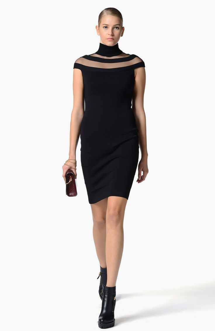 Network Siyah Elbise