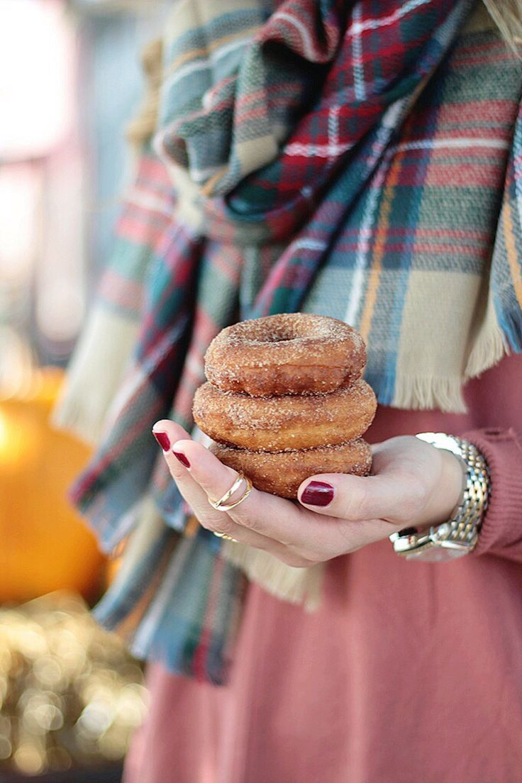 Hello October, Rachel Puccetti Between Two Coasts, Pumpkin Patch, Fall style, Sweater weather, plaid blanket scarf, apple cider donuts, kansas city louisburg cider mill