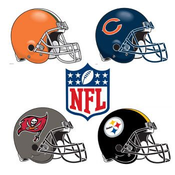 NFL Cornhole Decals
