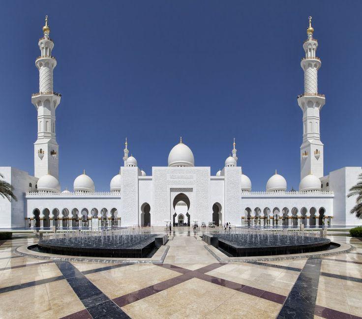 Shaikh Zayed Grand Mosque,  Abu Dhabi, Entrance