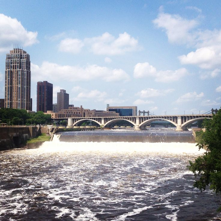 Mississippi River!, Minneapolis, MINN, Estados Unidos.