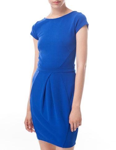 Tulip skirt dress