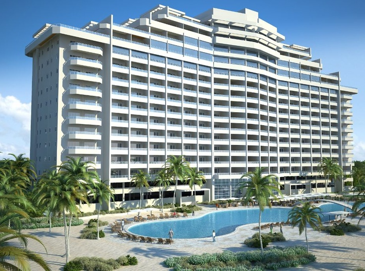 Ubicada en Juan Dolio, a 35 Km. de Santo Domingo, la capital de República Dominicana, y a 15 Km. del Aeropuerto Internacional de Las Américas, Las Olas es un condominio de dieciséis plantas, de estilo art déco y con vista a la playa, que cuenta con 227 apartamentos con espacios abiertos y vistas panorámicas del mar Caribe.
