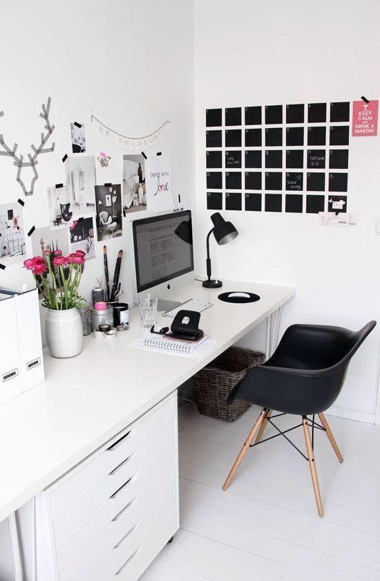 Travailler à la maison ? Dans un bureau lumineux et organisé, oui !